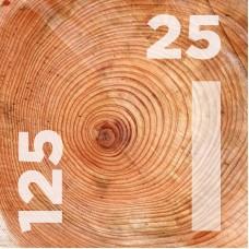 Доска обрезная 25 на 125