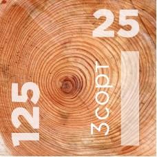 Доска обрезная 25 на 125 сорт 3