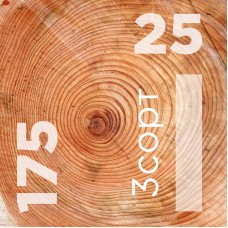 Доска обрезная 25 на 175 сорт 3