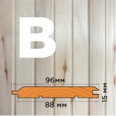 Вагонка из осины сорт B